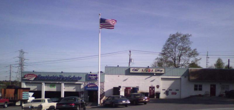 Old Glory Motorcycle Co./Carson's Southside Tire & Auto - one stop